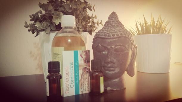 Masajes con aceites esenciales